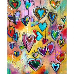 Heart Paint By Number