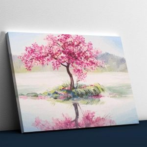 Romantic Tree in the Water