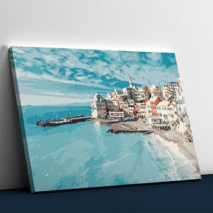 Blue Beach and City