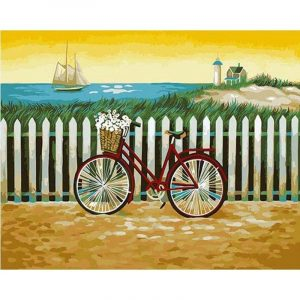 Bicycle and Sea