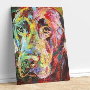 Abstract Labrador Dog