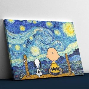 Looking at the Starry Night