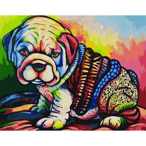 The Cutest Dog With Colors