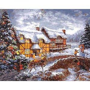 Christmas time and Snow