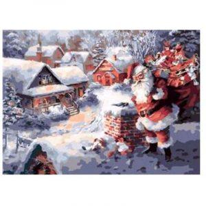 Santa On Christmas