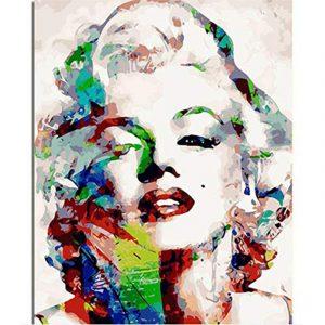 Colorful Marilyn Monroe