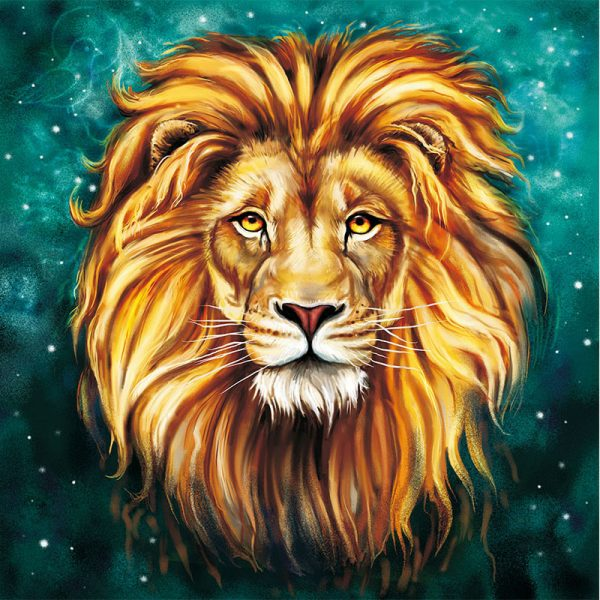 Abstract Art of Lion