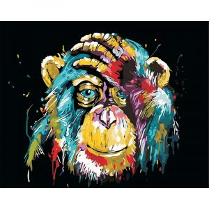 Abstract Monkey