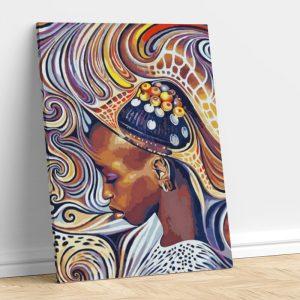 Abstract Black Beauty