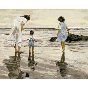 Family is Walking