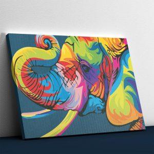 Abstract Elephant Modern Art