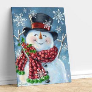 St Patrick's Day Snowman