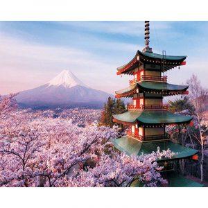 The beautiful scenery