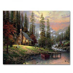 Beautiful House Near the River