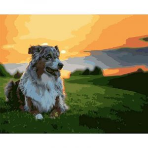 Dog on the Mountains