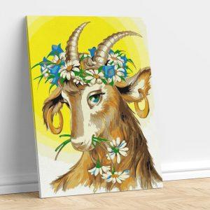 Decorated Goat
