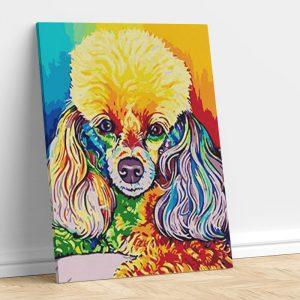 Poodle Pop Art