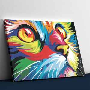 The Colorful Cat