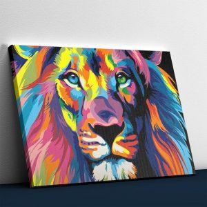 I love the Colors - Lion