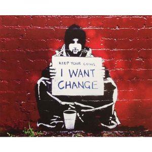 I want Change