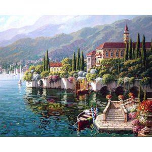 Lakeside Beautiful City