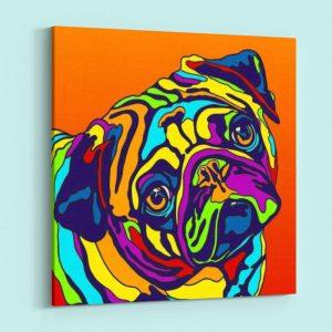 The Colorful Pug