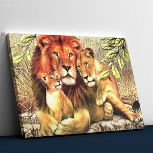Amazing Lion family