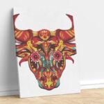 Abstract Buffalo