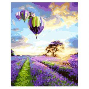 Colorful Balloon in Farm