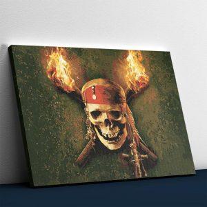The Burning Skull