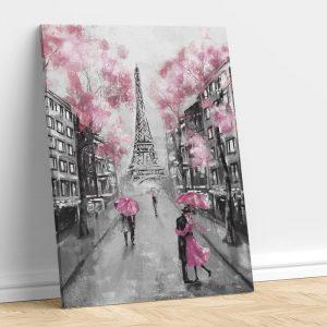 Romantic Couple in The Street