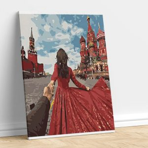 Romantic Couple IN Red City