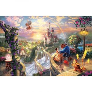 Beauty and the Beast - Paint By Number