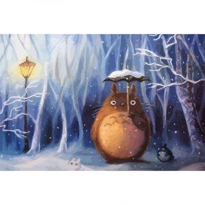 Totoro in the Snow