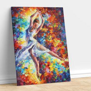 Abstract Dancing Woman