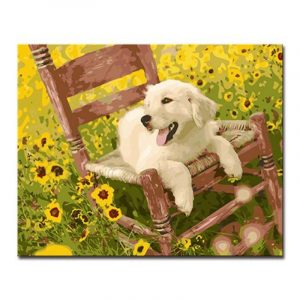Chilling in the Flower Field