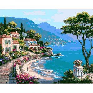 Beautiful Seaside City