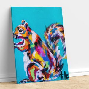 Abstract Fox Squirrel