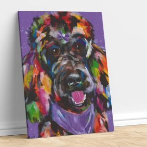 Abstract Labradoodle
