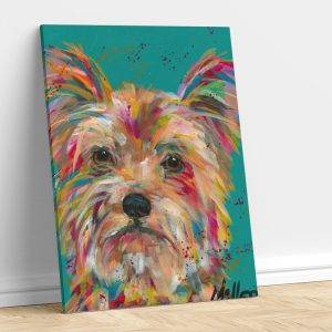 Abstract Yorkie